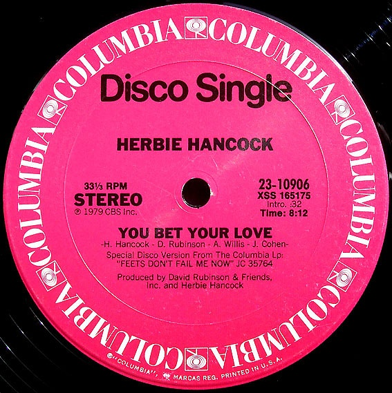 Herbie Hancock - You Bet Your Love 1976