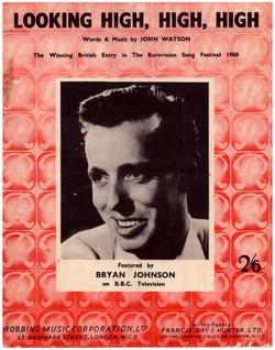 Bryan Johnson - Looking High, High High 1960 (Side A) DECCA