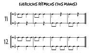 ritmos con dos manos