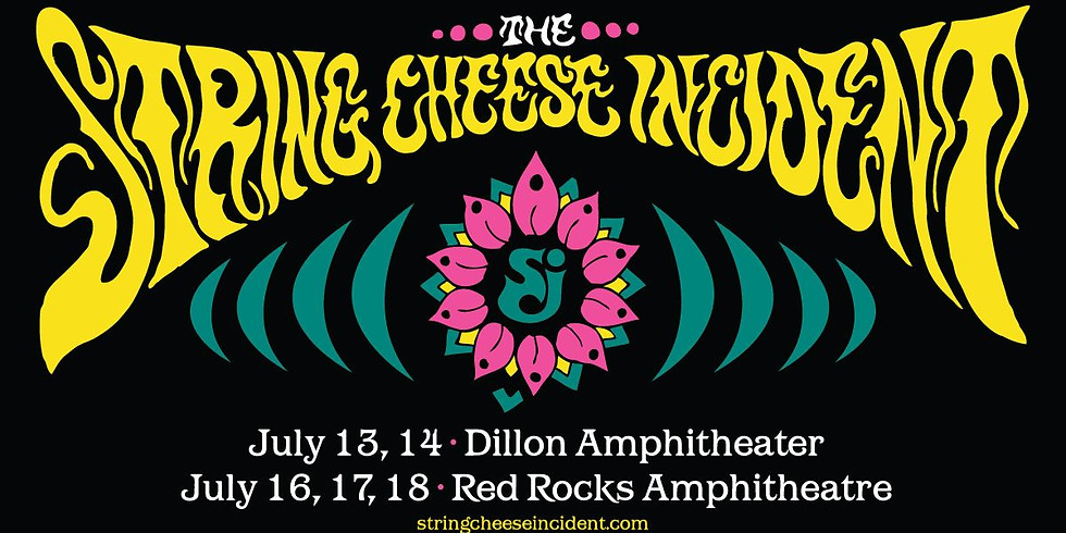 The String Cheese Incident - Fri, July 16 - Edgewater/Lakewood Bus