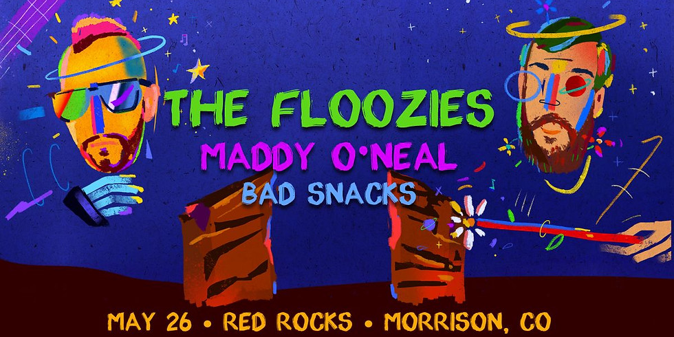 The Floozies at Red Rocks - Wed, May 26