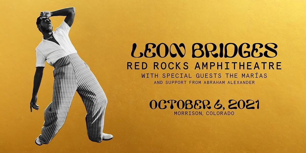LEON BRIDGES - Wed, Oct 6