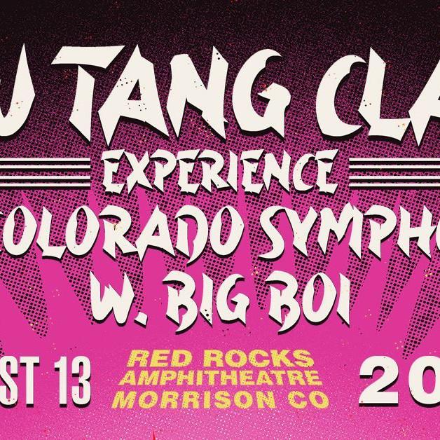 WU TANG CLAN - Fri, August 13