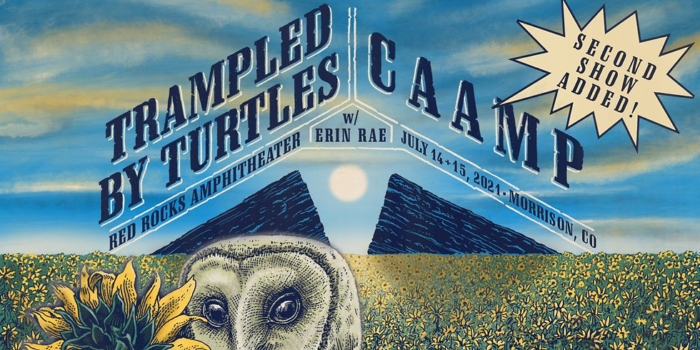 Trampled by Turtles - Wed, July 14