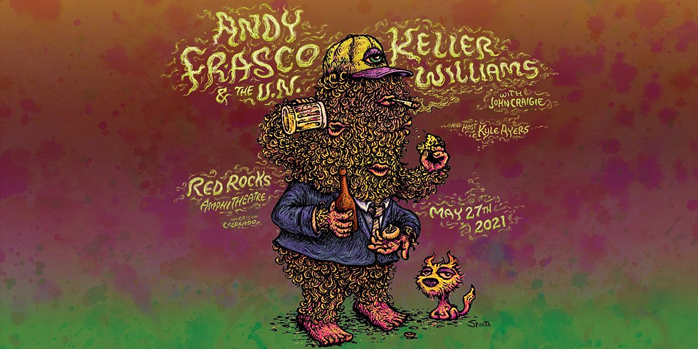 Andy Frasco & The U.N. at Red Rocks - Thurs, May 27th