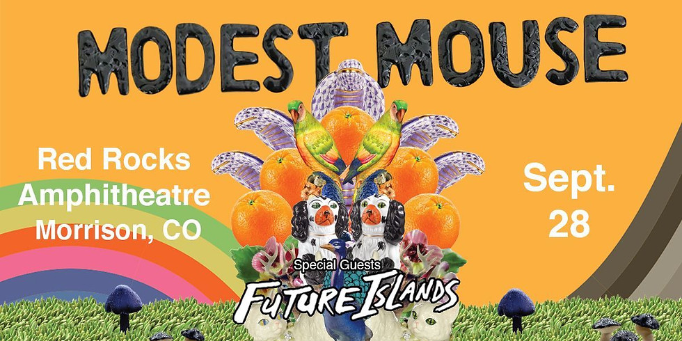 MODEST MOUSE - Tues, Sept 28