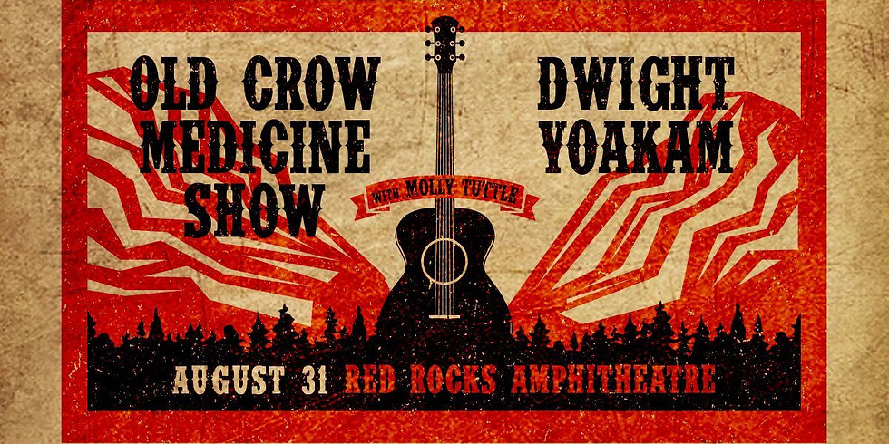 Old Crow Medicine Show - Tues, Aug 31