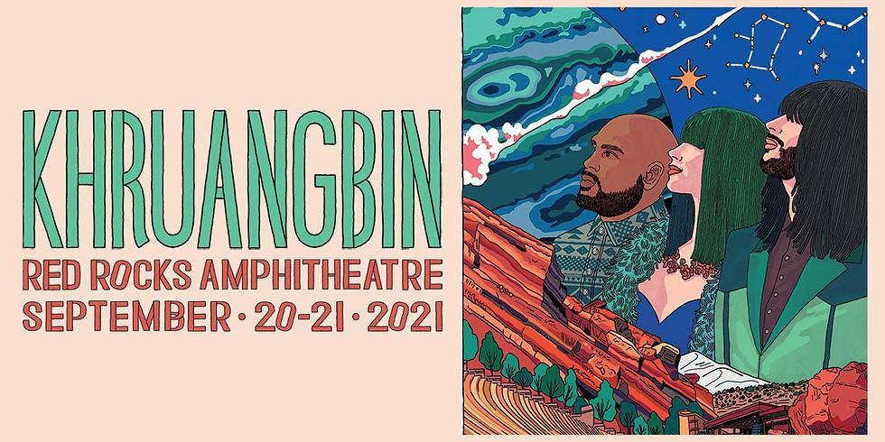 KHRUANGBIN - Mon, Sept 20
