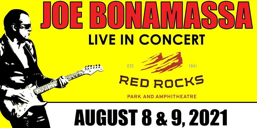 Joe Bonamassa - Mon, Aug 9