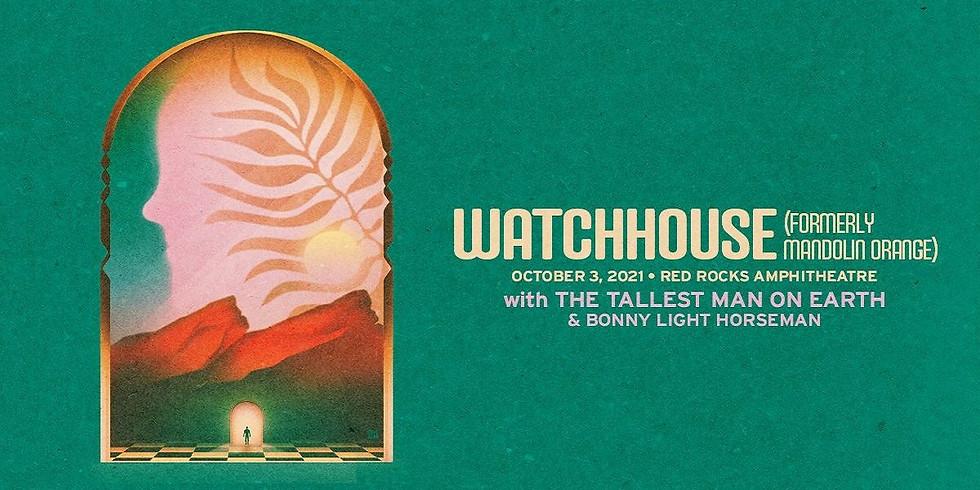 WATCHHOUSE - Sun, Oct 3