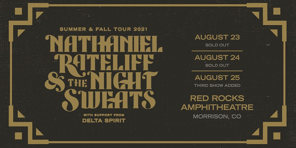 Nathaniel Rateliff & The Night Sweats - Mon, Aug 23