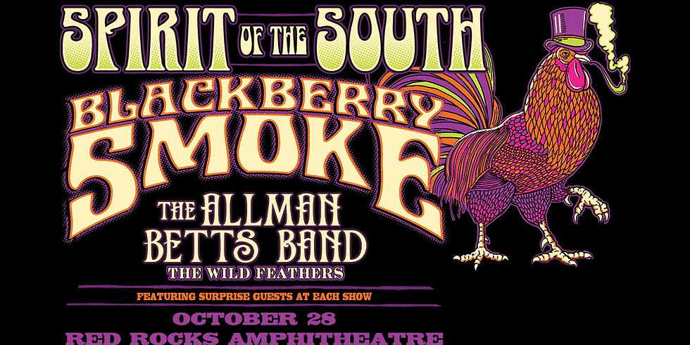 BLACKBERRY SMOKE - Thu, Oct 28