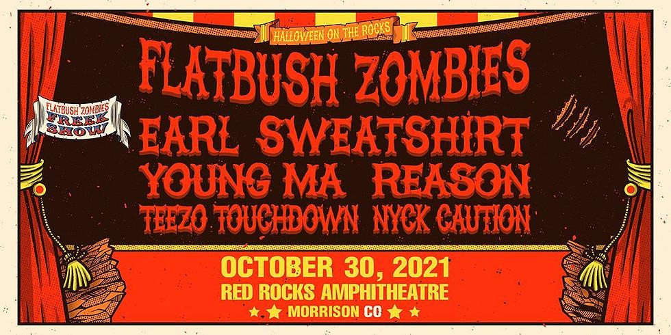 FLATBUSH ZOMBIES - Sat, Oct 30