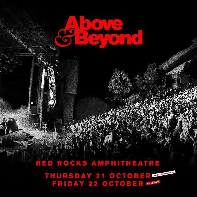 ABOVE & BEYOND - Thu, Oct 21