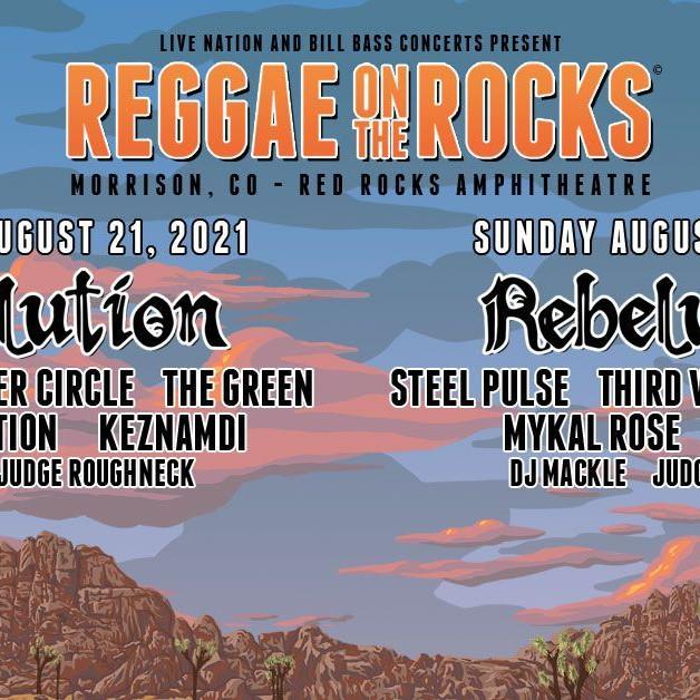Reggae on the Rocks - Sat, Aug 21