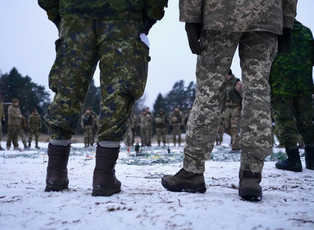 Canadian Forces Artist Program (CFAP) in Ukraine
