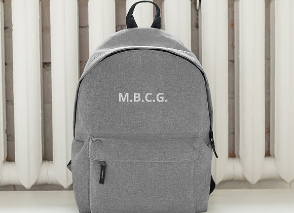 M.B.C.G. Embroidered Backpack