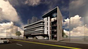 竹市竹蓮商圈最大立體停車場動工 預計明年6月完工