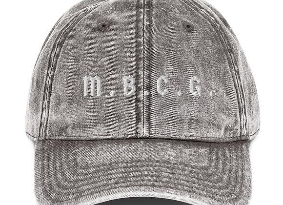 M.B.C.G. Vintage Cotton Twill Cap