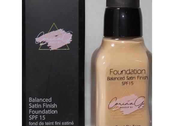 Balance Satin Finish Foundation FK114 ( Medium to Full Coverage)