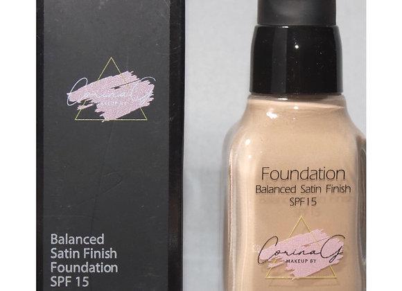 Balance Satin Finish Foundation FK110 ( Medium to Full Coverage)