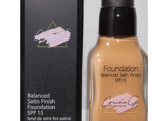 Balance Satin Finish Foundation FK125 (Medium to Full Coverage)