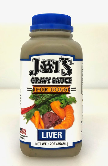 Beef Liver Gravy Sauce for Dogs