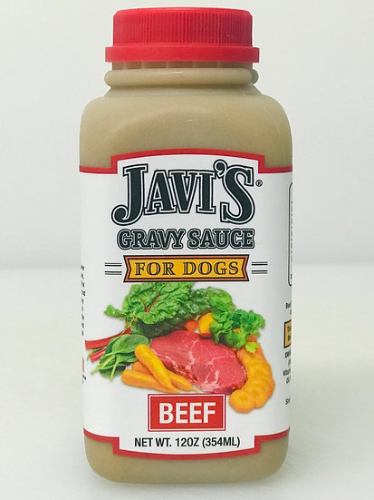 Beef Gravy Sauce for Dogs