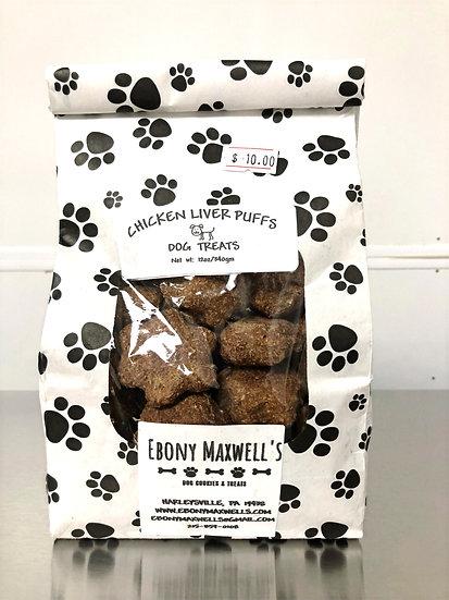 Ebony Maxwell's Chicken Liver Puffs