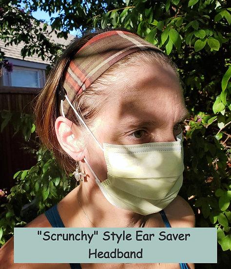 Ear Saver Headband Demonstration Cotton & Elastic Style