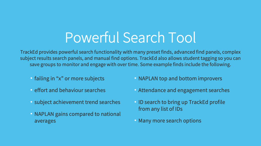 Powerful Search Tools