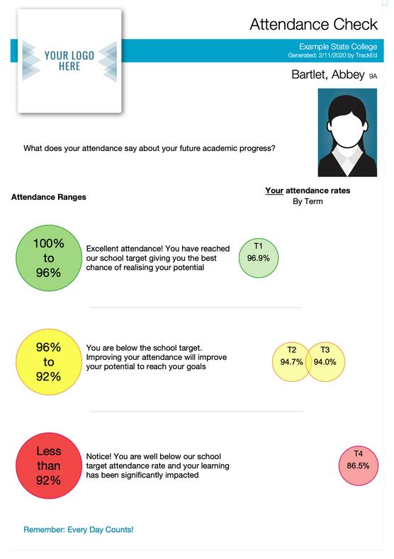 Student Profile Attendance Check
