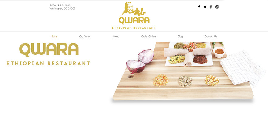 Restaurant Web - Concept