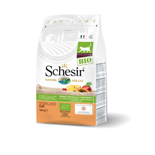 Schesir Bio Organic Sterlized Cat 400grams