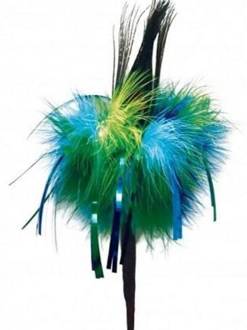 """Go Cat Long Peacock Sparkler 36"""""""