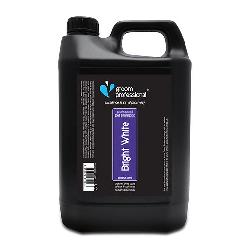 Groom Professional Bright White Shampoo 4 Litre