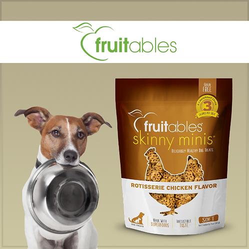 Fruitables Skinny Minis Dog Treats Rotisserie Chicken 141g