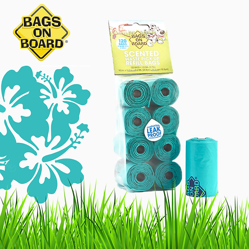 BOB Refill Bags Scented Roll 120 bags(8x15)