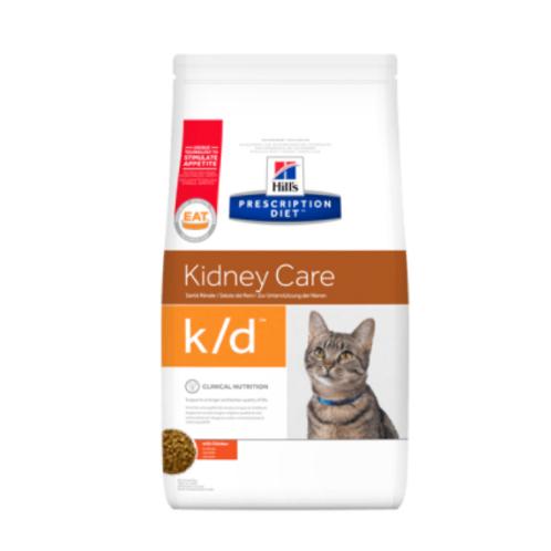 Hills PD Feline k/d Chicken  1.5kg & 5kg Bags