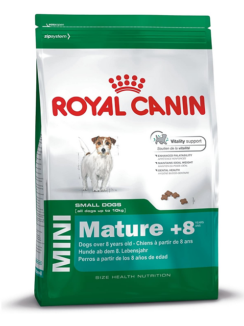 Royal Canin - Size Health Nutrition Mini Adult ( 2kg & 8kg Bags )