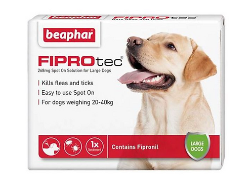 Fiprotec for Large Dog (20-40kg) 268 mg