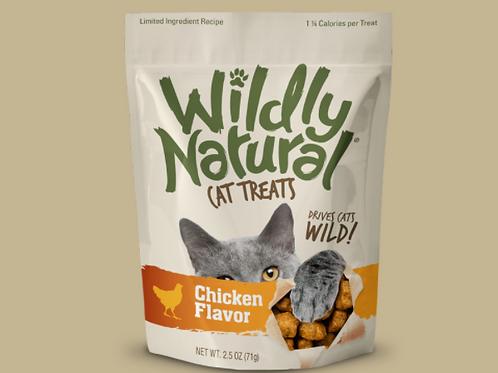 Fruitables Wildly Natural Cat Treats Chicken Flavor (71g)