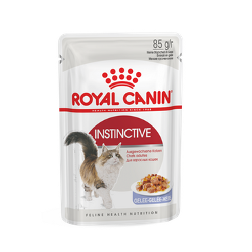 Royal Canin Wet Food - Instinctive for adult cats Jelly/ Gravy (pouches)
