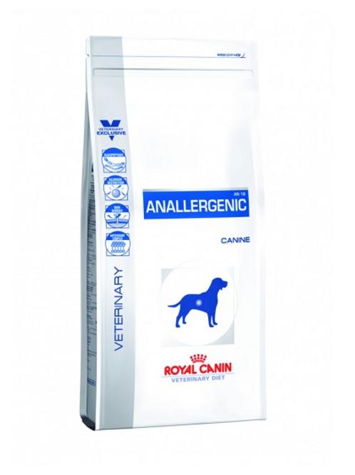 Vet Diet Canine Anallergenic ( 3kg + 8kg Sizes )
