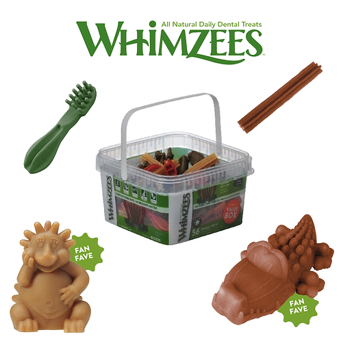 Whimzees Variety Value Box 56 Small/Grade