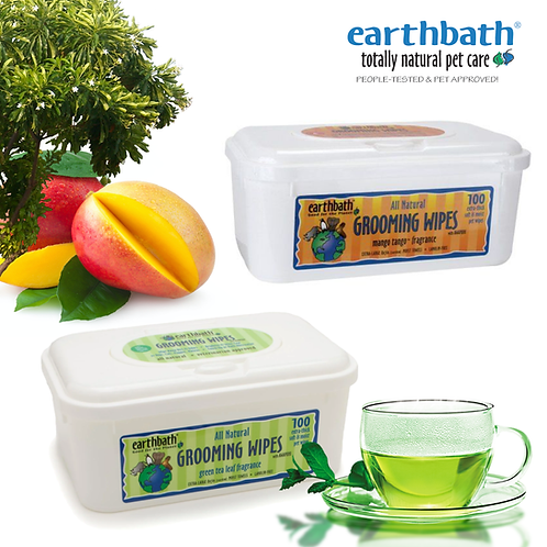 EARTHBATH Grooming Wipes 100pcs