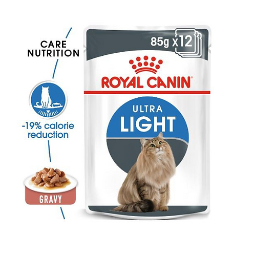 Royal Canin Wet Food - Ultra Light Pouches
