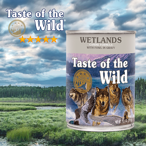 Taste of the Wild Wetlands Canine 375gr