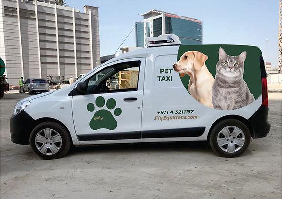 Equitrans Pet Travel Van 1