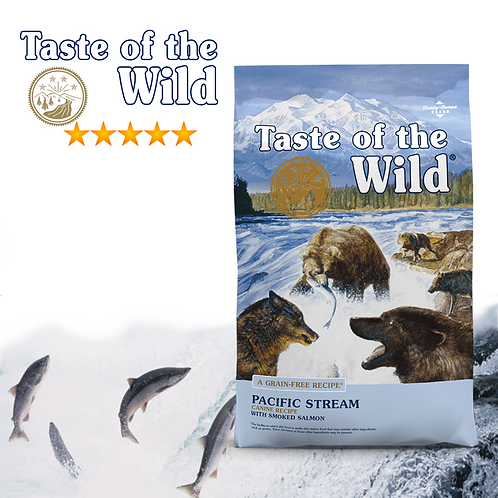 Taste of the Wild Pacific Stream Canine Formula ( 2 Sizes Available )